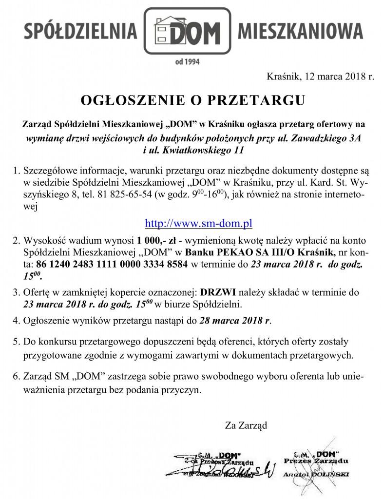 Ogłoszenie o przetargu_drzwi2